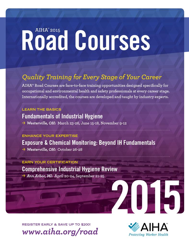 thumbnail for Mar15 Road Courses